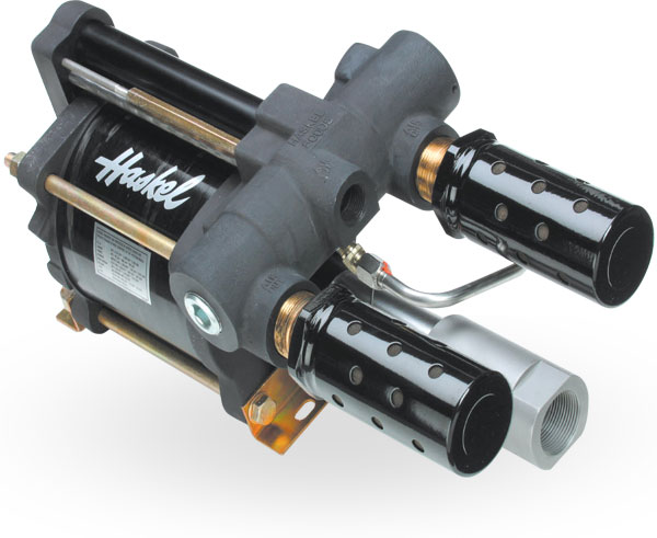 Haskel 6 HP air-driven pumps image