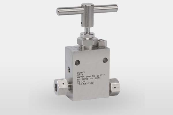 BuTech 100ksi Valves and Components image